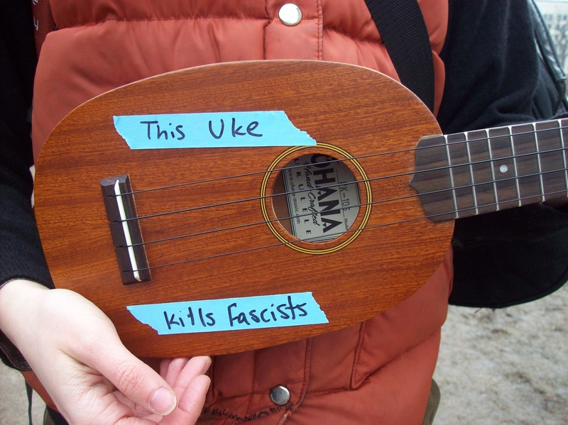 This Uke Kills Fascists