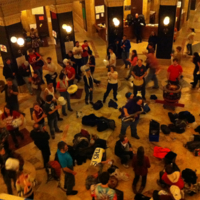 Musicians on Rotunda Floor