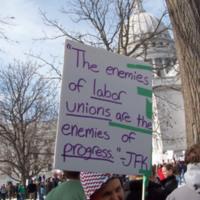 Enemies of labor unions are enemies of progress